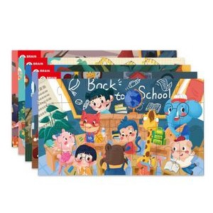 Small Jigsaw Puzzle 28 pieces with envelope package